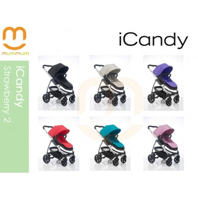 iCandy Strawberry2 PushChair Available In 6 Colours