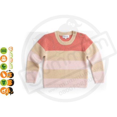 Atelier Child Stripe Sweater Pink Size 6/7Y