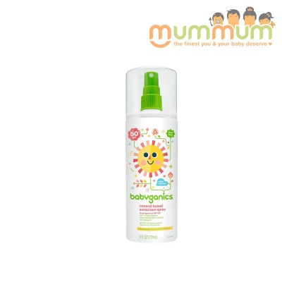 Babyganics Mineral Based Sunscreen Spray 177ml