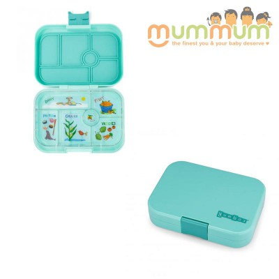 Yumbox 6 compartments Surf green