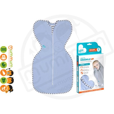 Love To Dream Swaddle Up Original Certified Organic Cotton - Blue