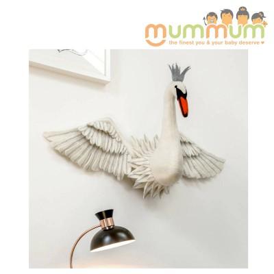 Sew Heart Felt Full Wings Swan