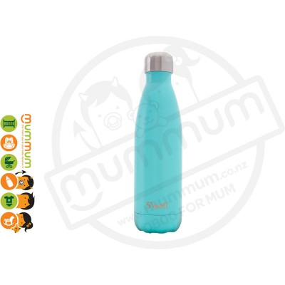 Swell Turquoise Blue Bottle 500ml (Satin Collection)