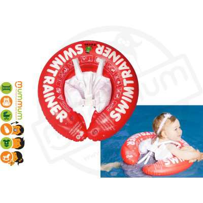 FREDS SWIM TRAINER RED 3M-4Y 6-18kg Toddler Swim Trainer