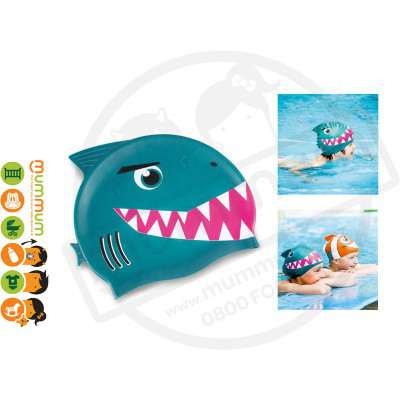 Donkey Swimming Cap Kids Shark