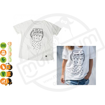 Kukukid T shirt Mommy Love is in the air