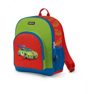 Crocodile Creek Everyday Kid's Backpack Race Car