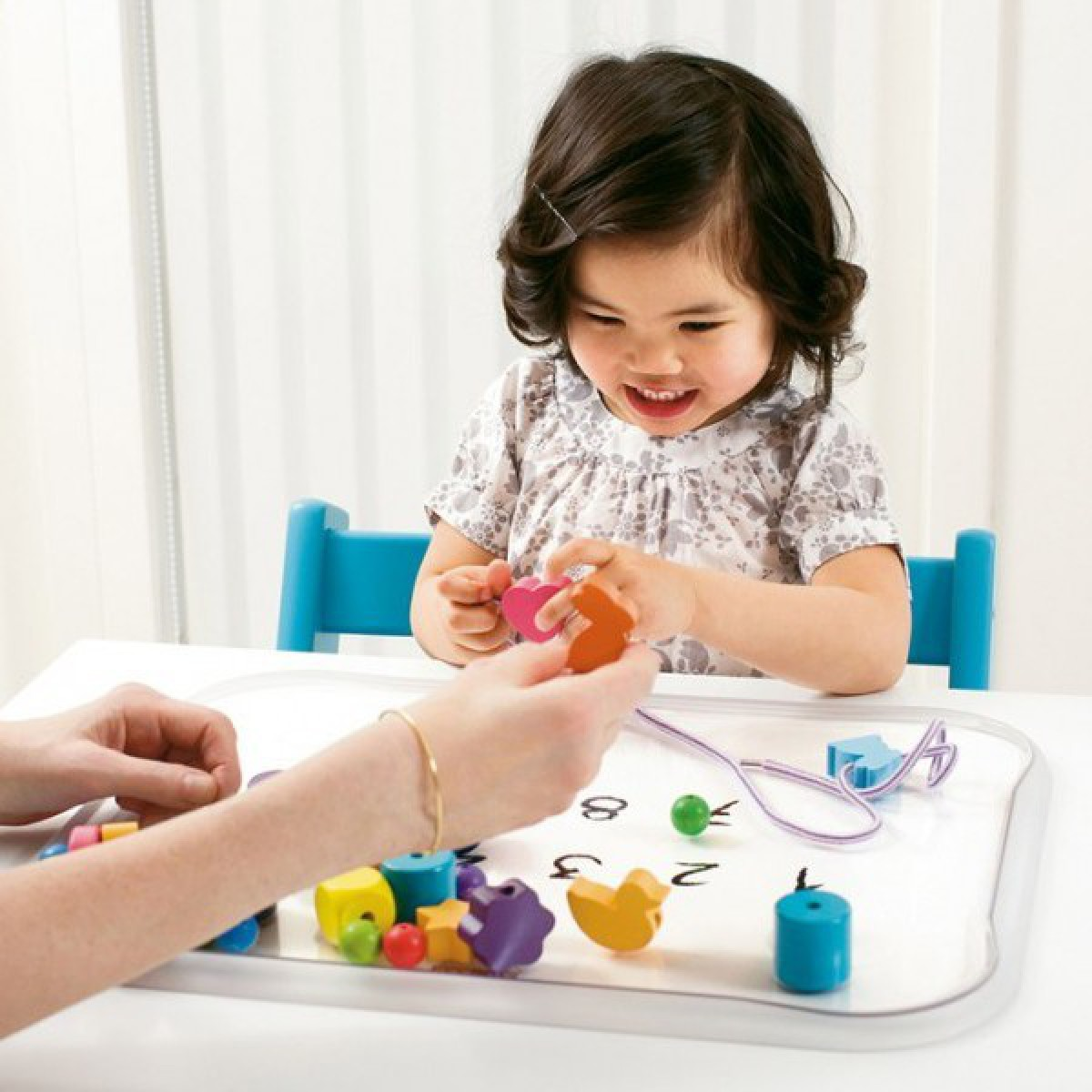 Stokke Table Top Tray With Double Sided Learning Plates