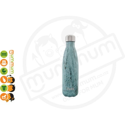 Swell Insulated Bottle Wood Collection 500ml Teal Wood 500 ml