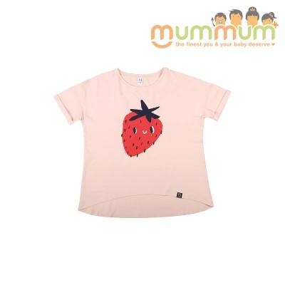 kukukid T-shirt  Mommy Funky Strawberry XS/S, S/M, M/L