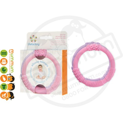 Lifefactory 2 Pack Multi Sensory Silicone Teether