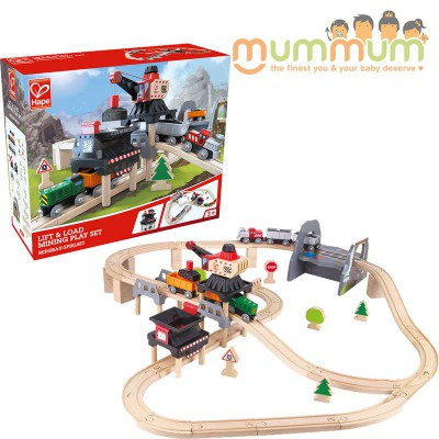 Hape Lift & Load Mining Set Imagination Play Wooden Toy