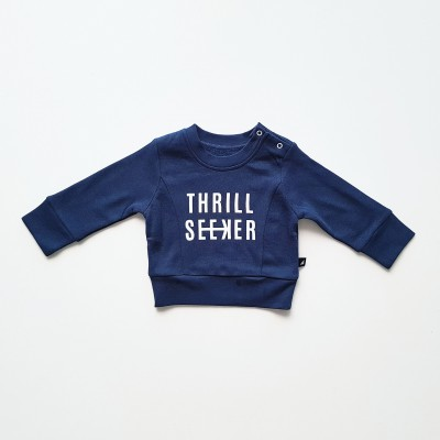 Anarkid Jumper Fleece Thrill Seeker Ink Navy