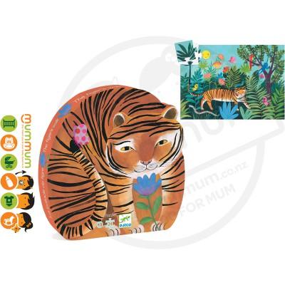 Djeco Puzzle The Tiger's Walk 24pcs 3Y+
