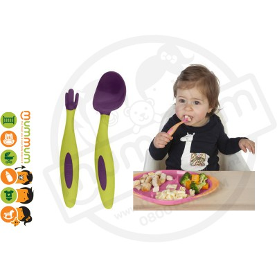 Bbox Toddler Cutlery Passion Splash Spoon Fork With Case
