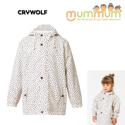 crywolf play jacket spots Raincoat 2-14Y