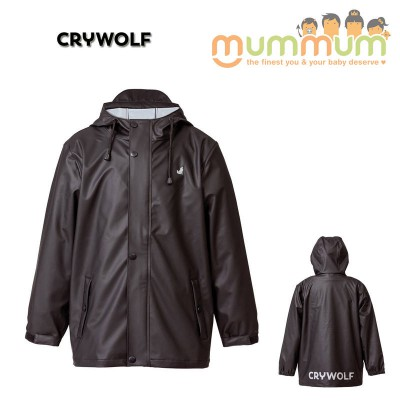 crywolf play jacket black 2-14Y