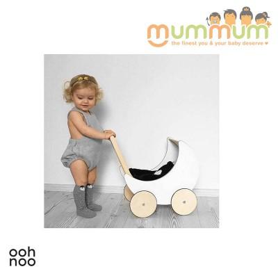 Ooh Noo Toy Pram A little wooden pram for all