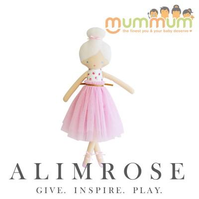 Alimrose Amelie Ballet Doll Pink Roses 52cm