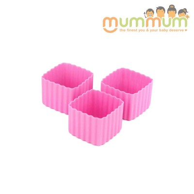 Little lunch box co cup sqaure pink