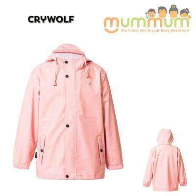 crywolf play jacket blush 2-14Y