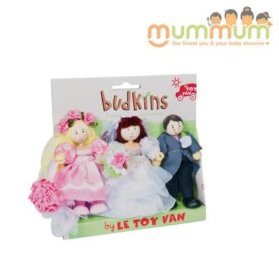 Le Toy Van Budkins Wedding Day Set 3Pcs