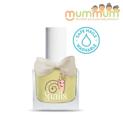 Snails Nail Polish Kids Safe Washable Creme Brulee