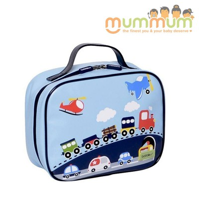 Bobble Art Insulated Lunch Box/Bag - Traffic / Cars