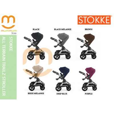 Stokke All Terrain Trailz Stroller Sep Delivery and Nov Delivery