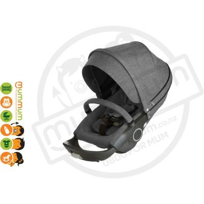 Stokke Trailz Black Melange Seat Unit Only