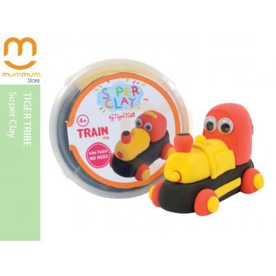 Tiger Tribe No-Bake Super Clay Super Fun-Train