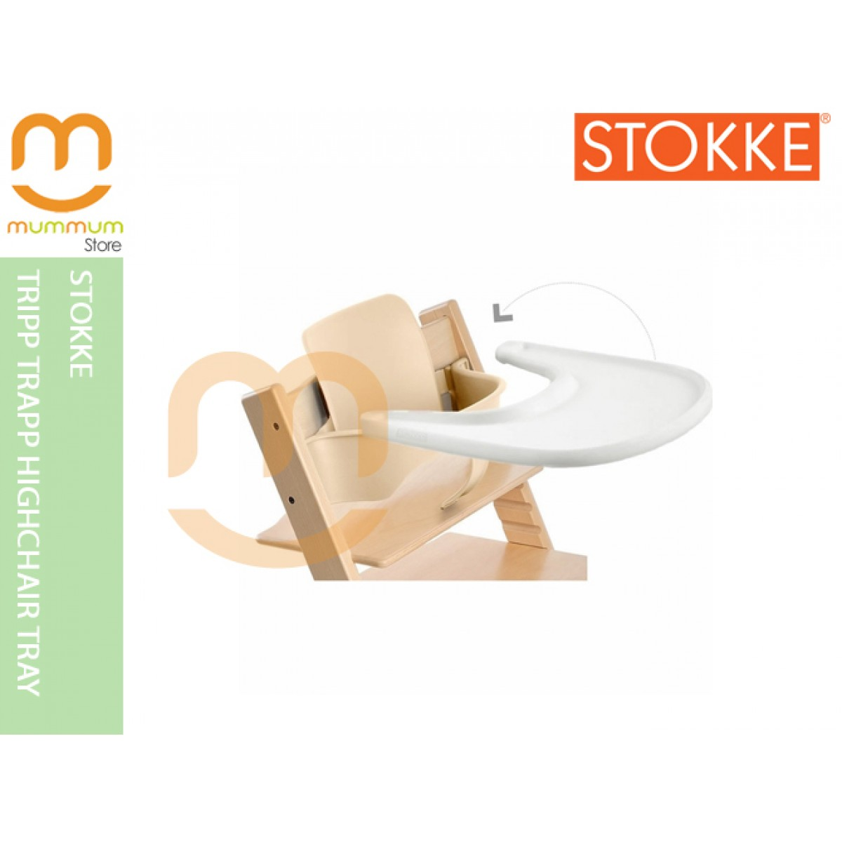 Stokke Tripp Trapp High Chair Tray 6M+