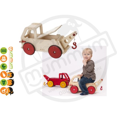 Moover Toys Baby Truck - Natural