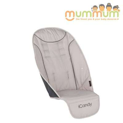 Icandy Peach universal seat liner truffle