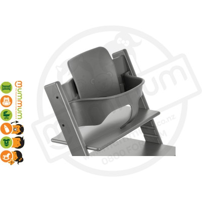 Stokke Trip Trapp High Chair Baby Set Storm Grey