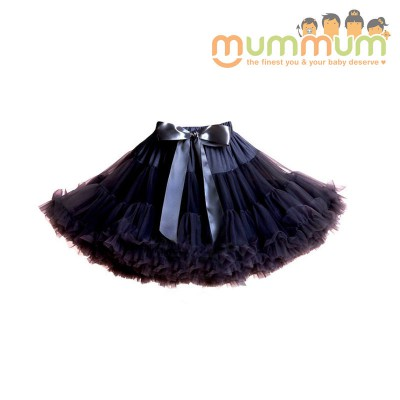 Evie & Sash Tutu Skirt Liquorice Black 3m-8ys