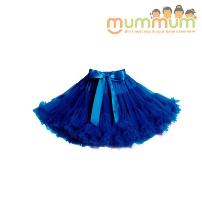 Evie & Sash Tutu Skirt Blueberry Royal Blue 3m- 8yrs