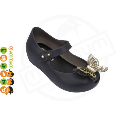 Mini Melissa Ultragirl Fly 31979 Black Matt