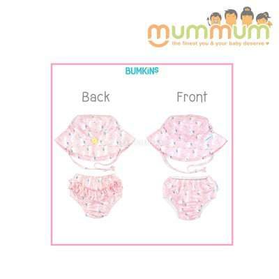 Bumkins Swim Set Unicorn 6m,12m