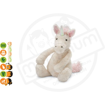Jellycat Bashful Pink Unicorn Medium