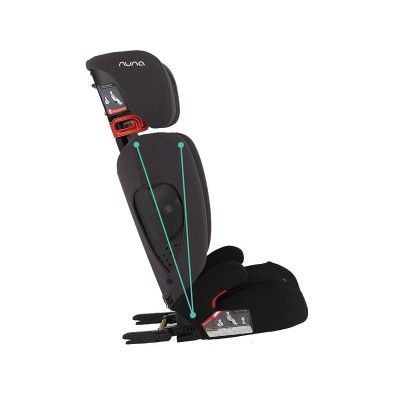 Nuna AACE booster with Isofix slate