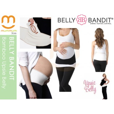 Belly Bandit Bamboo Upsie Support Relief Black Nude Pregnency