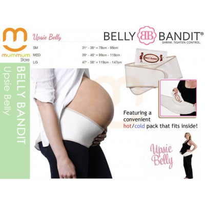 Belly Bandit Upsie Belly Support Band, Medium (Nude)