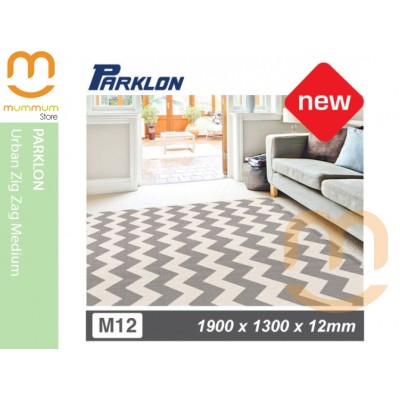 Parklon Bumper Playmat Urban ZigZag 1900x1300x12mm