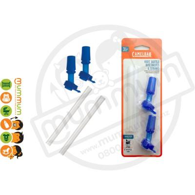 CamelBak eddy Kids Bottle Accessory 2 Bite Valves & 2 Straws
