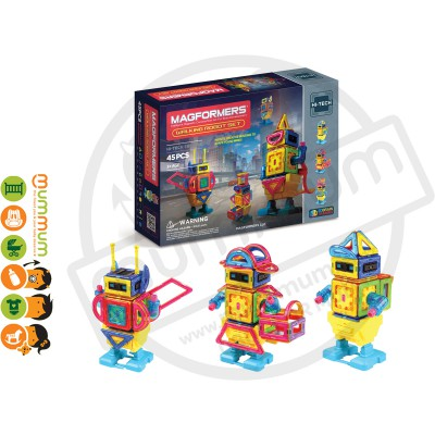Magformers Walking Robot Set 45