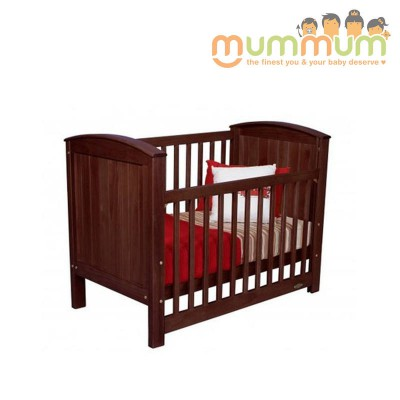Touchwood Baby Cot Meadow Walnut