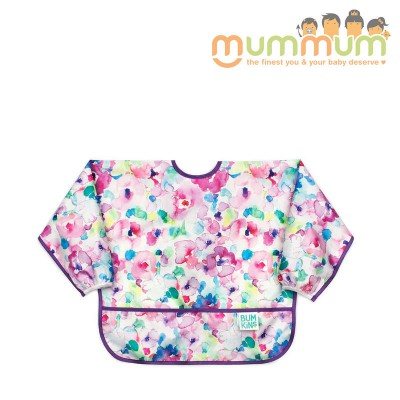 Bumkins Sleeved Bib Watercolour