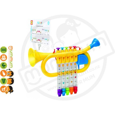 Alex Bath Tub Tunes Water Trumpet