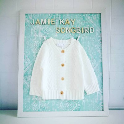 Jamie Kay Cable Cardigan Milk Knit Cotton Top